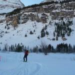 Cervières - Cascade de glace - Le secteur