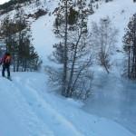 Cervières - Cascade de glace - Le torrent gelé
