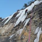 Cervières - Cascade de glace - Boudi!
