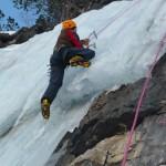 Cervières - Cascade de glace - Zoom