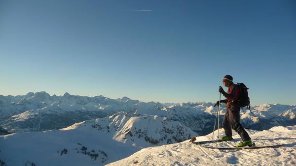 Ski au Chenaillet