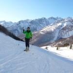 Col de Roche Robert - Vers l'Alpe du Lauzet
