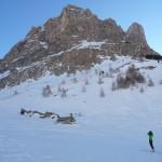 Col de Roche Robert - Au pied de l'Aiguilette