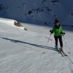 Col de Roche Robert - Sortie du petit raidillounet