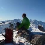 Grand Aréa - Au sommet, longue contemplation
