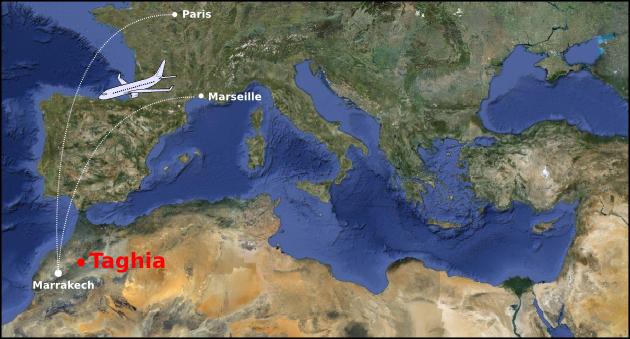 Escalade à Taghia – Maroc