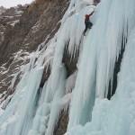 Cascade de glace à Crévoux - Ca a de la gueule