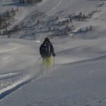 Hors piste Crévoux - En route pour la Ratelle