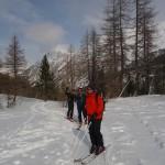Ski de randonnée - Côte Belle - Les phénomènes