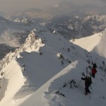 Ski de randonnée - Côte Belle - L'assaut sommital