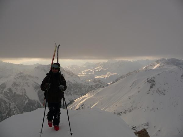 Ski – Pic Ouest de Côte belle