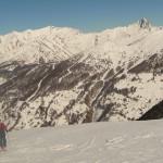 Ski - Col de la Lauze - Le bleu Haut alpin, une base!