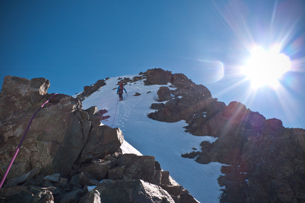 Pic sans Nom - Cambon Francou - Summit en vue
