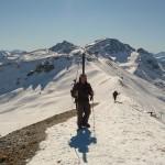 Hors piste Serre Chevalier - La première montée vers la Cucumelle