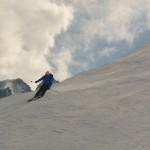 Vallée Blanche - Laurent lâche le frein