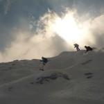 Vallée Blanche - Le passage le plus technique actuellement