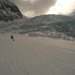 Vallée Blanche - Glisse digestive sur la Mer de Glace