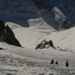 Promontoire - Les pentes dégueulasses au début de ce magnifique hors piste