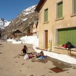 Jour de transition - La rigueur de l'hiver à la Bérarde