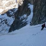 Traversée des ailefroides et retour - Descente dans le Glacier Long