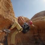 Traversée Jebel Rum - Pas de bloc bédouin
