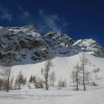 Vallon du Fontenil - Les pentes qui auront nos faveurs