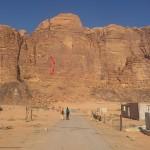 Wadi Rum - Inferno - En route pour la face est du Jebel Rum