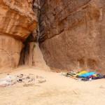 Barrah canyon - Rumeurs de la pluie - El bivouaco