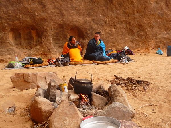 Barrah canyon - Rumeurs de la pluie - Des belles têtes de bivouaqueurs
