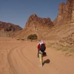 Traversée Jebel Rum - En route vers Abu Aina