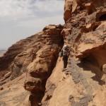 Traversée Jebel Rum - Vire expo, certifiée bédouine conforme