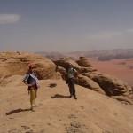 Traversée Jebel Rum - Dômes parmi d'autres