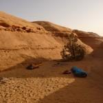 Traversée Jebel Rum - Le bivouac