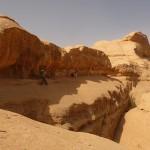 Traversée Jebel Rum - Juste sous la fenêtre