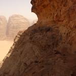 Traversée Jebel Rum - La grande vire
