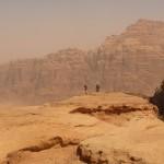Traversée Jebel Rum - Quelque part entre un Siq et un wadi