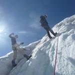Ecole de glace - Dans le plus raide