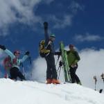 Sommet du Grand Vallon - Au sommet