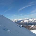 Pic de Rochebrune - Sur fond de Queyras