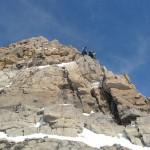 Pic de Rochebrune - L'arête sommitale