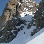 Pic de Rochebrune - Le couloir, pas fameux