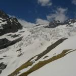 Ecole de glace - Le Glacier Blanc encore bien enneigé