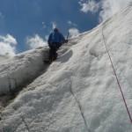 Ecole de glace - Des ateliers de plus en plus raides!