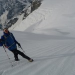 Pic d'Arsine - Beaux effets sur la neige