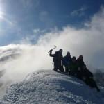 Pic d'Arsine - La troupe au sommet