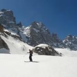 Ski Glacier noir - Elle est pas belle la vie
