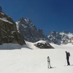 Ski Glacier noir - On a connu pire!