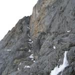 Eiger - Voie Heckmair - La rampe