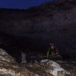 Eiger - Sous la Rote Fluh, avant la fissure difficile