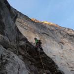 Eiger - Dans la fissure difficile